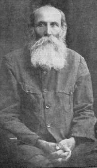 תמונתו של א.ד. גורדון, ששימשה לעטיפה