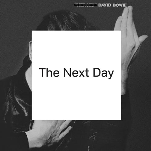 """עטיפת """"The Next Day"""" של דיוויד בואי. עיצוב: Barnbrook"""