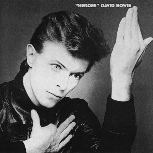 עטיפת האלבום Heroes, 1977.