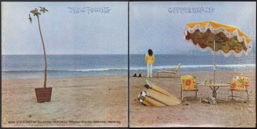 עטיפת One the beach של ניל יאנג, 1974