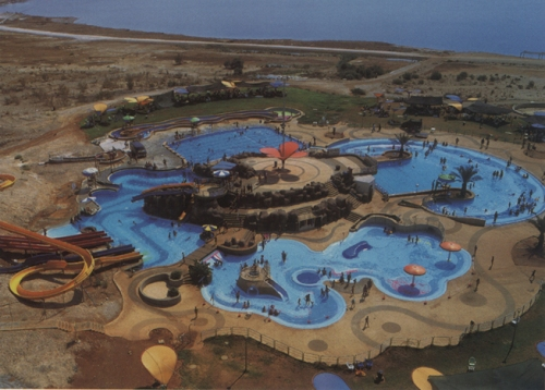 """פארק המים """"אטרקציה"""" בקלי""""ה בימים יפים יותר"""